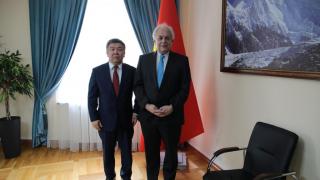 Встреча Директора Агентства с г-ном Послом Эдуардом Ауэром, Главой Представительства ЕС в КР