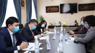 Встреча Директора ГАПЗИ с Главой регионального представительства IFC г-ой Кассандрой Колберт
