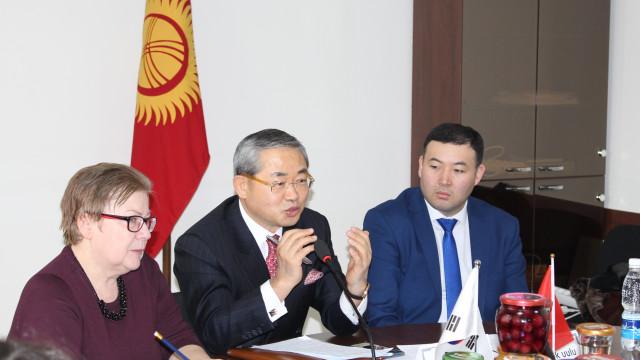 Корейские компании заинтересованы в продукции из Кыргызстана
