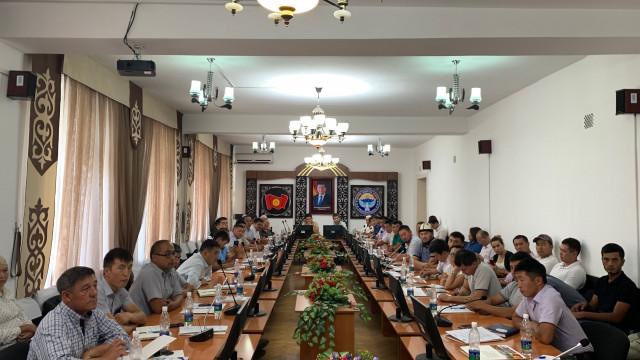 В г. Ош прошел круглый стол на тему «Продвижение экспорта - обзор импорта Китая, Таджикистана, Узбекистана и Индии как возможность экспорта для КР»