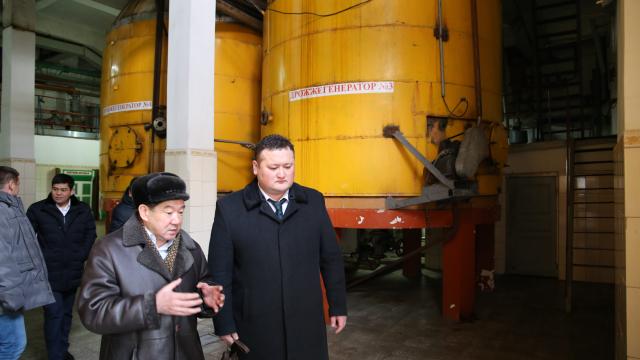 Представители АПЗИ КР посетили ГП «Карабалтинский спиртовой завод (КСЗ)