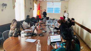Сотрудники АПЗИ КР провели тренинг для Коучеров по инструментам анализа внешних рынков (ITC TradeMap)